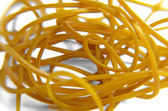Yellow Rubber Bands — Stock Photo