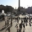 Stock Video: Trafalgar Square