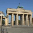 Brandenburg gate, Berlin — Stock Video