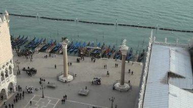 Riva degli Schiavoni, Venice — Stock Video