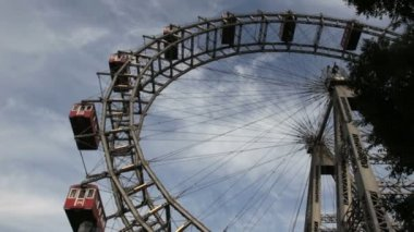 Prater wheel, Vienna — Video Stock