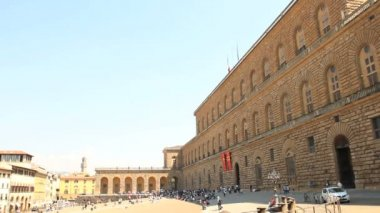 Pitti Palace, Florence — Video Stock