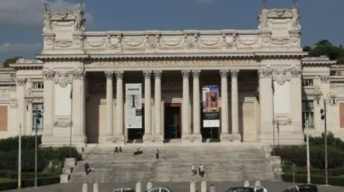 Galleria Nazionale D'arte Moderna, Rome — Stock Video
