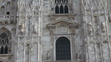 Duomo of Milan, Italy — Stok video