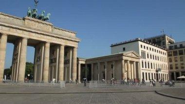 Brandenburg gate, Berlin — Stock Video