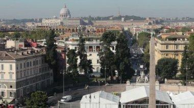 Roms stadsbild — Stockvideo