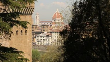 Duomo of Florence — Stok video