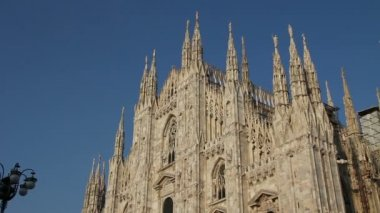 Duomo of Milan, Italy — Stockvideo