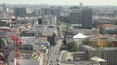 East Berlin cityscape — Stock video