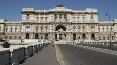 Supreme Court of Cassation, Rome — Stockvideo