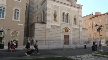Saint Spyridon Church in Trieste — Stock Video