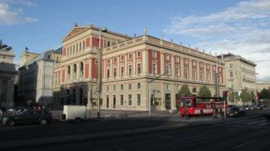 Musikverein, viena — Vídeo stock