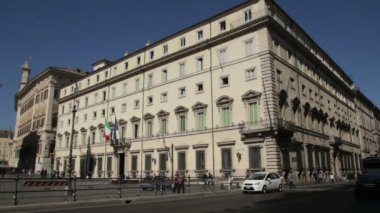 Palazzo Chigi — Stock Video