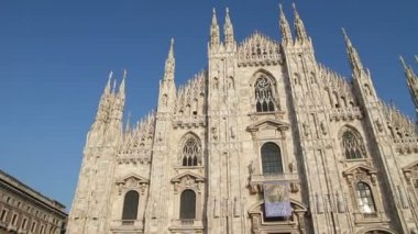 Duomo of Milan, Italy — Vídeo de Stock