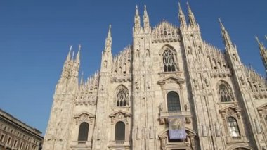 Duomo of Milan, Italy — Video Stock