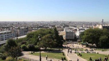Paris skyline — Stock Video