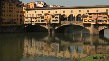 Ponte Vecchio, Florence — Stock Video