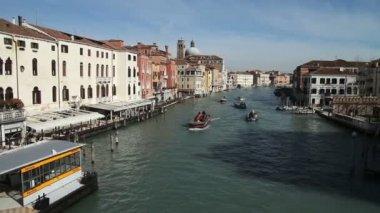 Grand canal, venetië — Stockvideo