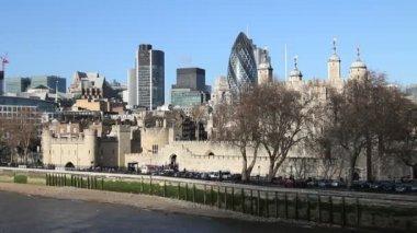 Londen — Stockvideo
