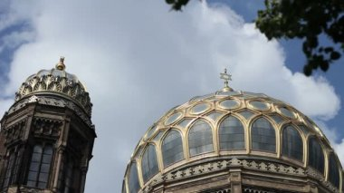 Neue Synagoge, Berlin — Stock Video