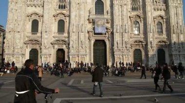 大教堂的米兰,意大利 — 图库视频影像
