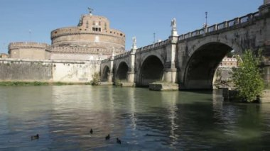 Castel Sant'Angelo, Rome — Stock Video