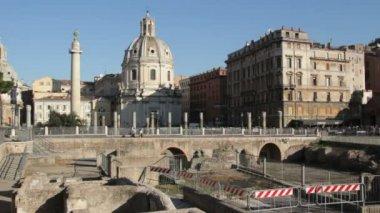 Imperial Fora, Rome — Stockvideo