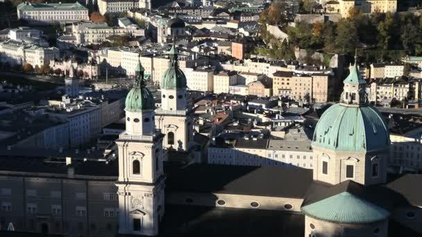 Salzburgo dom — Vídeo de stock