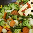 Steamed Vegetables — Stock fotografie #39110325