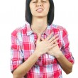 Stock Photo: Heart attack