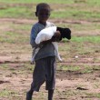 Masai Child with a Little Sheep — Stock Photo #38792183