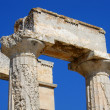Stock Photo: Doric Order Column