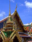 Detail of the Wat Phra Kaew Temple, Bangkok — Stockfoto