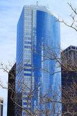 Wolkenkrabber in new york stad — Stockfoto