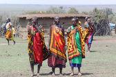 Masai Women Song — Stock Photo
