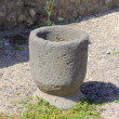 Roman Mortar - Pompeii — Stock Photo