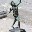 Dancing Faun Statue - Pompeii — Stock Photo
