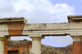 Pompeian Colonnade — Stock Photo