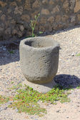 Roman Mortar - Pompeii — Photo