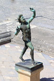 Dancing Faun Statue - Pompeii — Photo