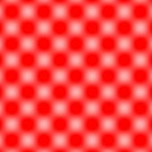 Checked Grid Circular Blur - White & Red — Stock Photo