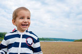 Portrait of a cheerful boy — Stock Photo
