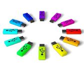Usb sticks — Stockfoto