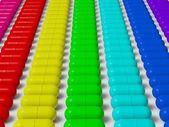 капсулы таблетки — Стоковое фото
