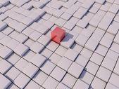 One cube — Stock Photo