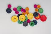 Renkli düğmeler — Stok fotoğraf