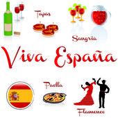 Viva espana — Stock Vector