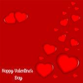 Heureuse saint-valentin — Vecteur