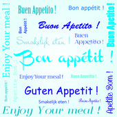 Bon appetit.eps — Stockvektor