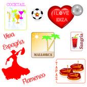 Spain - Flamenco — Stock Vector